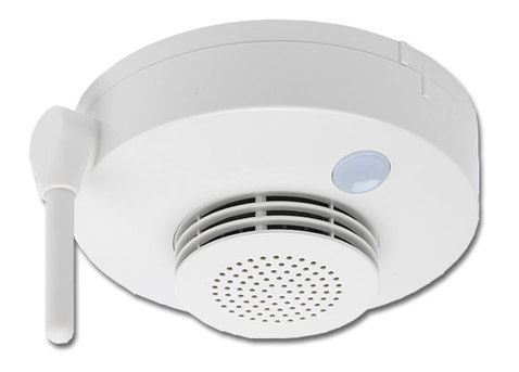 Wireless photoelectric smoke detector 4611