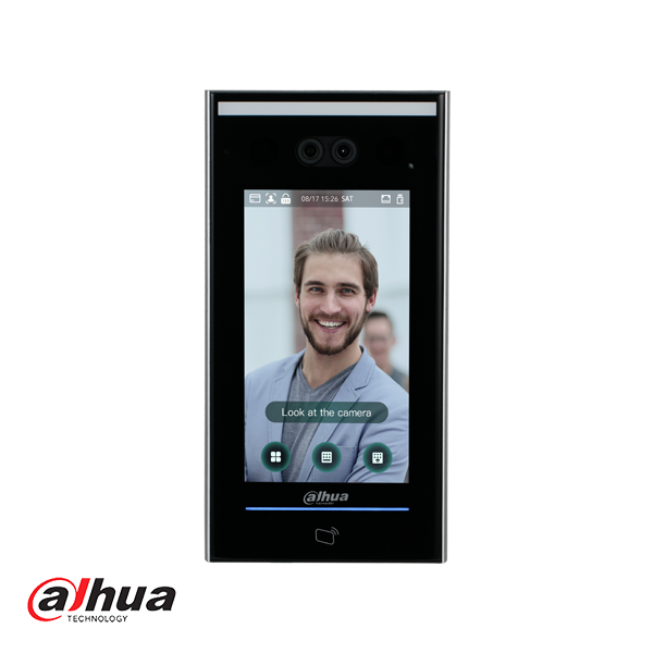 Dahua Face Recognition Access Controller with Temperature Measure